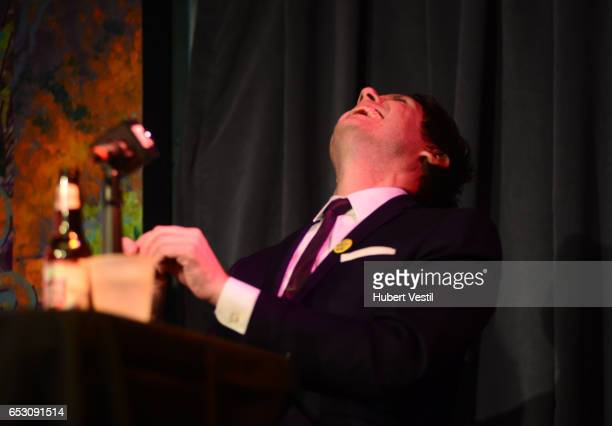 Actor/comedian Jeff B Davis performs onstage at HarmonQuest during 2017 SXSW Conference and Festivals at Esther's Follies on March 13 2017 in Austin...