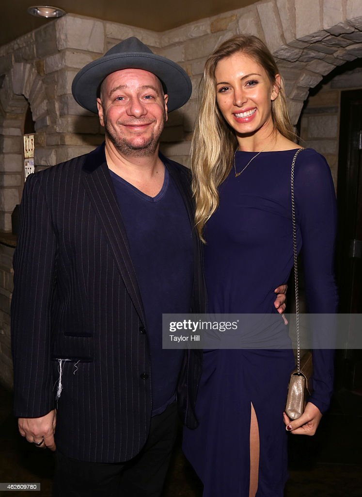 Actor/comedian Jeff Ross (L) and guest attend Rolling Stone LIVE Presented By Miller Lite at The Venue of Scottsdale on January 31, 2015 in Scottsdale, Arizona.