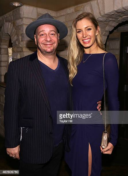 Actor/comedian Jeff Ross and guest attend Rolling Stone LIVE Presented By Miller Lite at The Venue of Scottsdale on January 31 2015 in Scottsdale...