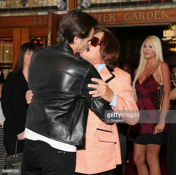 Actor/comedian Jim Carrey and Tony Clifton attend the premiere of 'Jim Andy The Great Beyond' during the 2017 Toronto International Film Festival at...