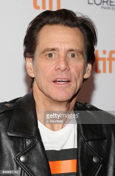 Actor/comedian Jim Carrey attends the premiere of 'Jim Andy The Great Beyond' during the 2017 Toronto International Film Festival at Winter Garden...