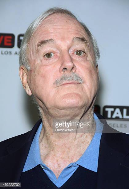 Actor/comedian John Cleese arrives at LiveTalks Los Angeles Presents John Cleese With Eric Idle In Coversation Discussing John Cleese's New Memoir...