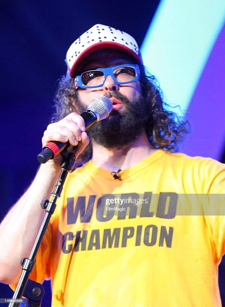 Actor/Comedian Judah Friedlander performs onstage during Day 3 of Bonnaroo 2012 on June 9 2012 in Manchester Tennessee