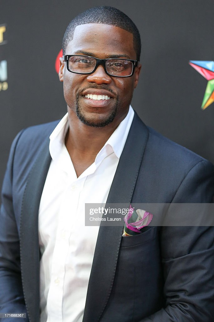 Actor/comedian <a gi-track='captionPersonalityLinkClicked' href=/galleries/search?phrase=Kevin+Hart+-+Actor&family=editorial&specificpeople=4538838 ng-click='$event.stopPropagation()'>Kevin Hart</a> arrives at the '<a gi-track='captionPersonalityLinkClicked' href=/galleries/search?phrase=Kevin+Hart+-+Actor&family=editorial&specificpeople=4538838 ng-click='$event.stopPropagation()'>Kevin Hart</a>: Let Me Explain' premiere at Regal Cinemas L.A. Live on June 27, 2013 in Los Angeles, California.