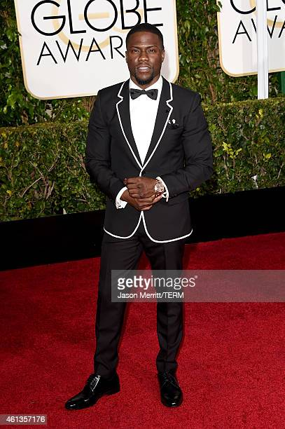 Actor/Comedian Kevin Hart attends the 72nd Annual Golden Globe Awards at The Beverly Hilton Hotel on January 11 2015 in Beverly Hills California