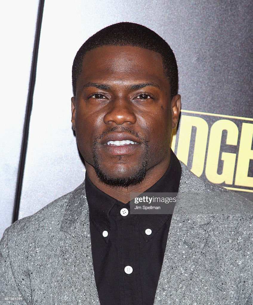 Actor/comedian <a gi-track='captionPersonalityLinkClicked' href=/galleries/search?phrase=Kevin+Hart+-+Actor&family=editorial&specificpeople=4538838 ng-click='$event.stopPropagation()'>Kevin Hart</a> attends the 'Grudge Match' screening benifiting the Tribeca Film Insititute at Ziegfeld Theater on December 16, 2013 in New York City.