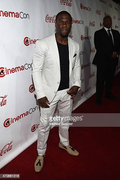Actor/comedian Kevin Hart recipient of the Comedy Star Of The Year Award attends The CinemaCon Big Screen Achievement Awards brought to you by The...