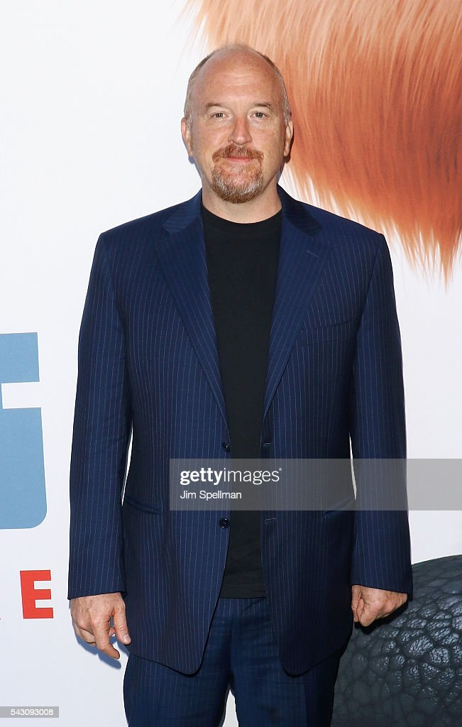 Actor/comedian <a gi-track='captionPersonalityLinkClicked' href=/galleries/search?phrase=Louis+C.K.&family=editorial&specificpeople=2538284 ng-click='$event.stopPropagation()'>Louis C.K.</a> attends the 'Secret Life Of Pets' New York premiere on June 25, 2016 in New York City.