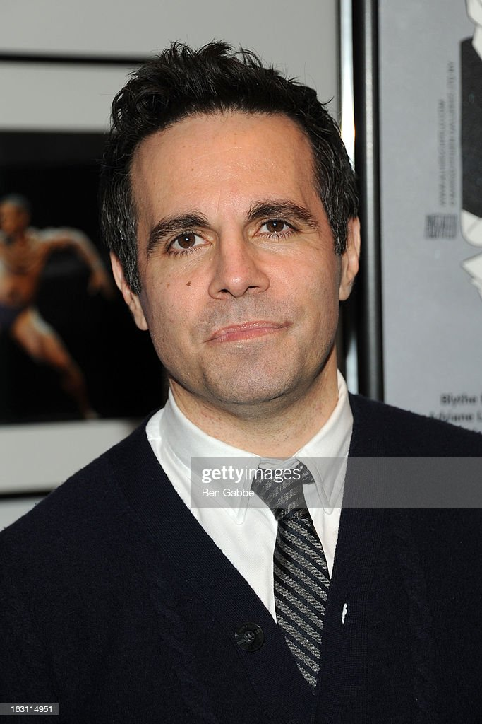 Actor/comedian <a gi-track='captionPersonalityLinkClicked' href=/galleries/search?phrase=Mario+Cantone&family=editorial&specificpeople=201932 ng-click='$event.stopPropagation()'>Mario Cantone</a> attends 'Our Town' Benefit Performance at the Gerald W. Lynch Theatre on March 4, 2013 in New York City.