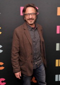 Actor/comedian Mark Maron attends the 2014 IFC Upfront at Roseland Ballroom on March 20 2014 in New York City