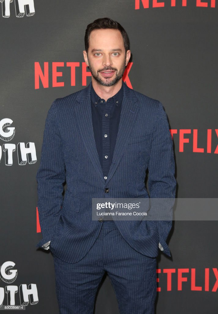 Actor/comedian Nick Kroll attends the premiere of Netflix's 'Big Mouth' at Break Room 86 on September 20, 2017 in Los Angeles, California.