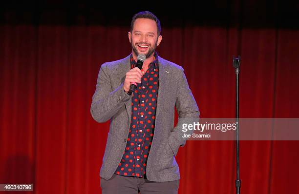 Actor/comedian Nick Kroll speaks onstage at Variety's 5th annual Power of Comedy presented by TBS benefiting the Noreen Fraser Foundation at The...
