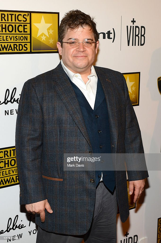 Actor/comedian Patton Oswalt arrives at Broadcast Television Journalists Association's third annual Critics' Choice Television Awards at The Beverly Hilton Hotel on June 10, 2013 in Los Angeles, California.