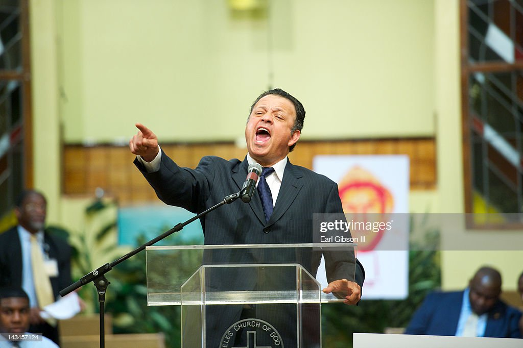 Actor/Comedian Paul Rodriguez speaks at the NAACP Trayvon Martin Rally on April 26, 2012 in Los Angeles, California.