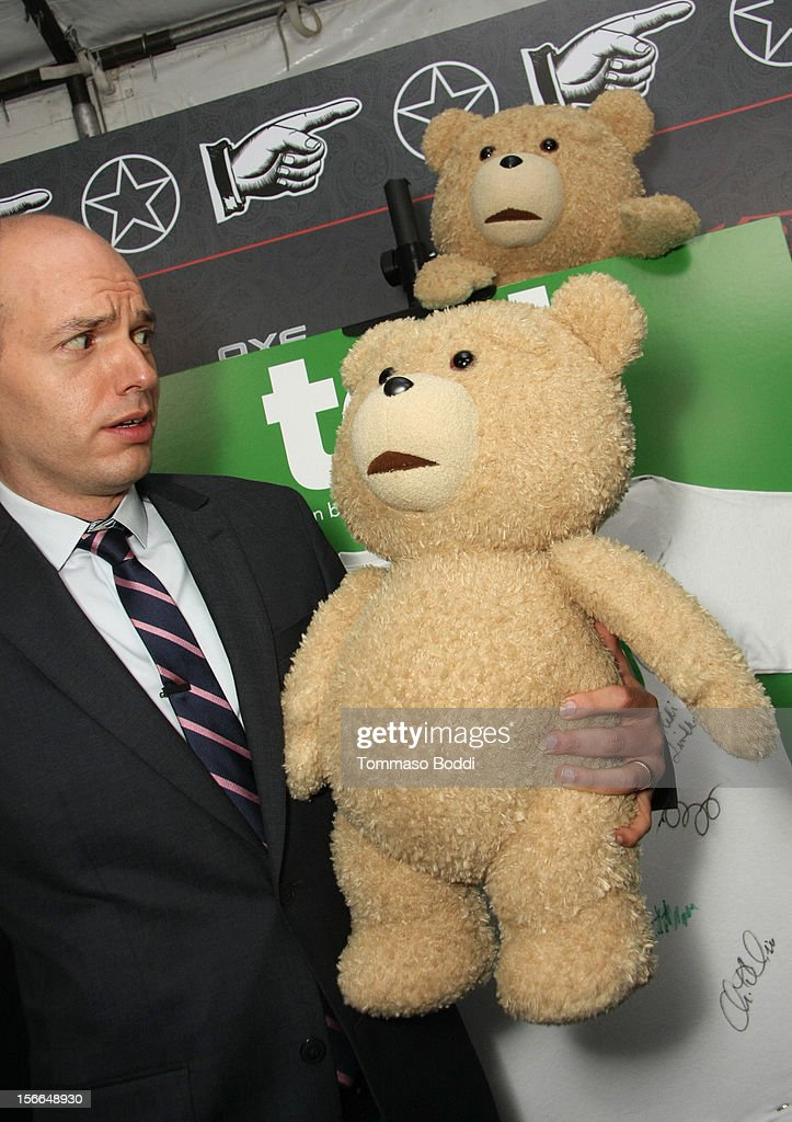 Actor/comedian <a gi-track='captionPersonalityLinkClicked' href=/galleries/search?phrase=Paul+Scheer&family=editorial&specificpeople=805513 ng-click='$event.stopPropagation()'>Paul Scheer</a> arrives at Variety's 3rd annual Power of Comedy event presented by Bing benefiting the Noreen Fraser Foundation held at Avalon on November 17, 2012 in Hollywood, California. The Ted Blu-ray and DVD will be released on December 11, 2012.