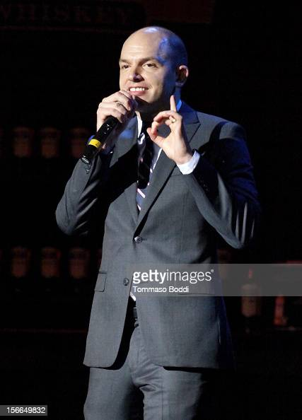 Actor/comedian Paul Scheer performs onstage at Variety's 3rd annual Power of Comedy event presented by Bing benefiting the Noreen Fraser Foundation...