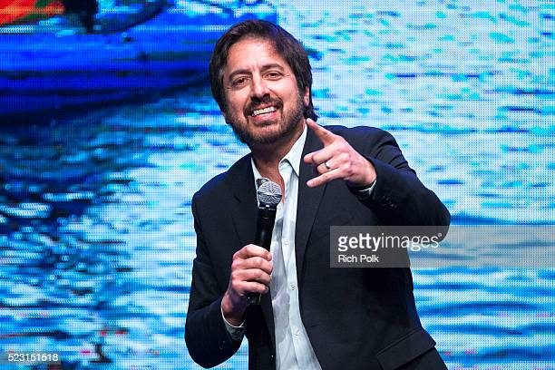 Actor/comedian Ray Romano performs on stage at the Keep It Clean Comedy Benefit for Waterkeeper Alliance at Avalon on April 21 2016 in Hollywood...