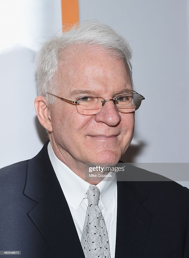 Actor/comedian Steve Martin attend 'It's Only A Play' Broadway Re-Opening Night at The Bernard B. Jacobs Theatre on January 23, 2015 in New York City.