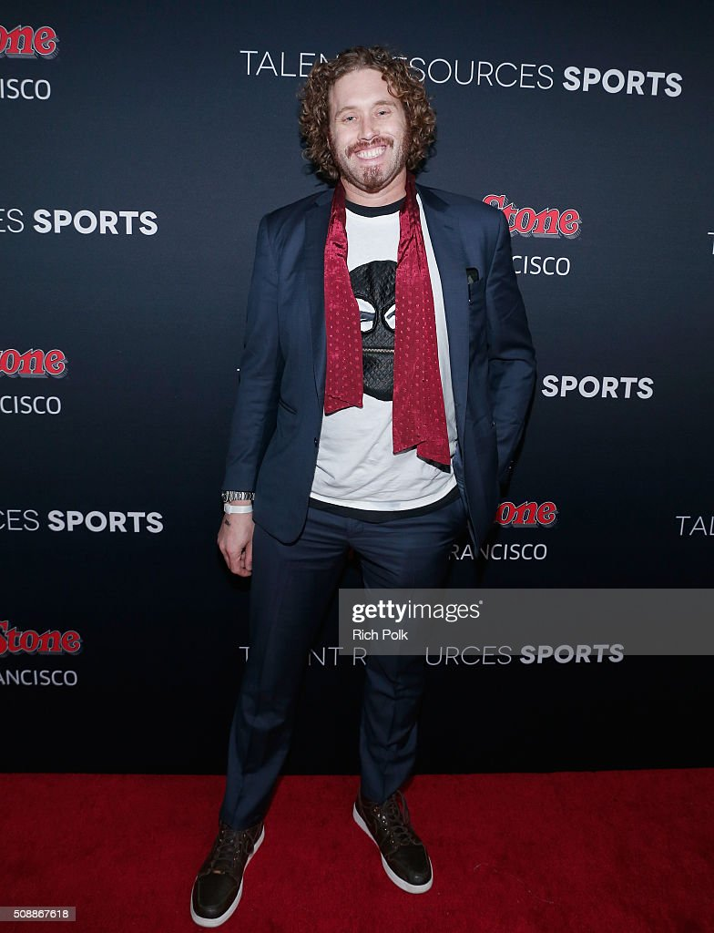 Actor/comedian T. J. Miller attends Rolling Stone Live SF with Talent Resources on February 7, 2016 in San Francisco, California.