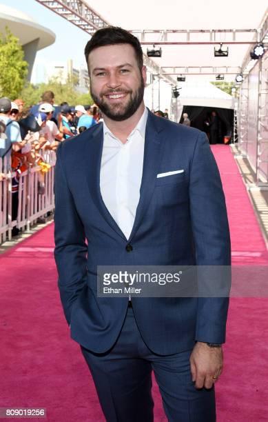 Actor/comedian Taran Killam attends the 2017 NHL Awards at TMobile Arena on June 21 2017 in Las Vegas Nevada