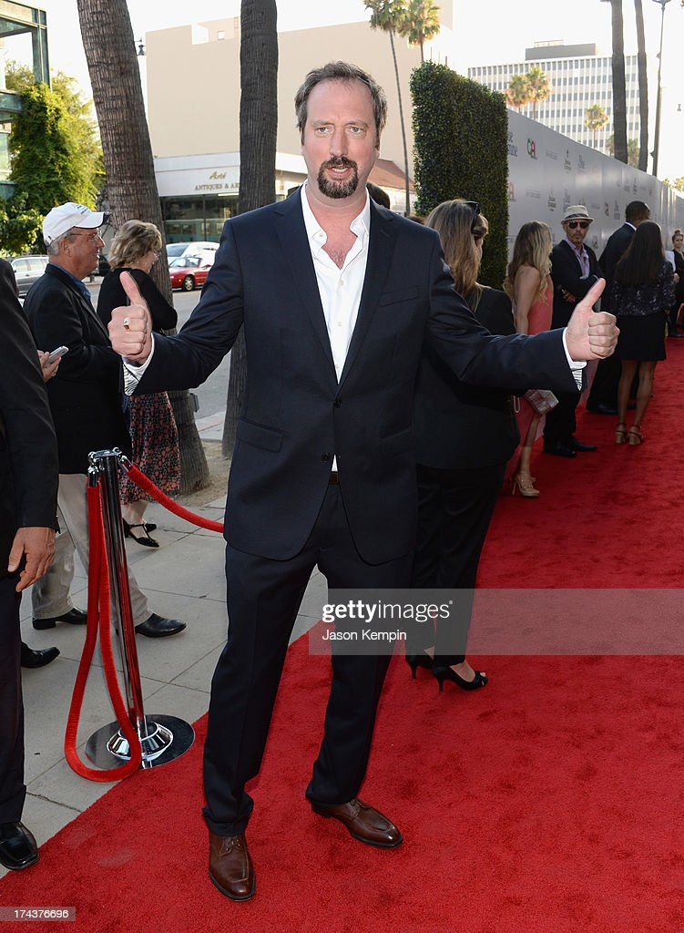 Actor/Comedian Tom Green arrives at the premiere of 'Blue Jasmine' hosted by AFI & Sony Picture Classics at AMPAS Samuel Goldwyn Theater on July 24, 2013 in Beverly Hills, California.