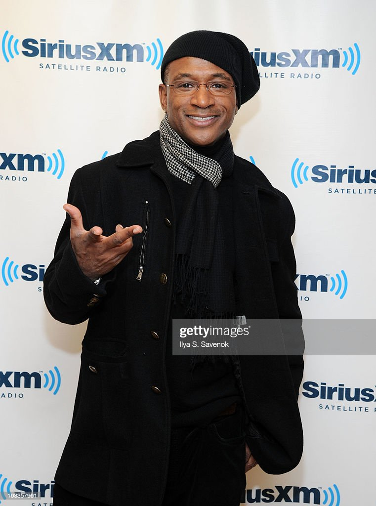 Actor/comedian <a gi-track='captionPersonalityLinkClicked' href=/galleries/search?phrase=Tommy+Davidson&family=editorial&specificpeople=619191 ng-click='$event.stopPropagation()'>Tommy Davidson</a> visits the SiriusXM Studios on March 8, 2013 in New York City.