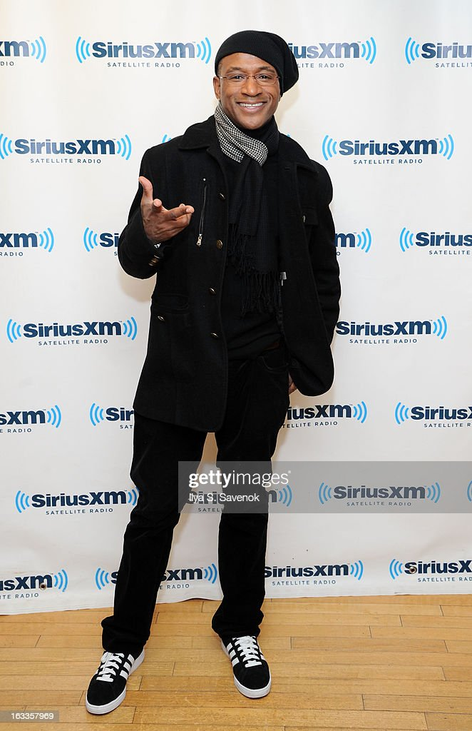Actor/comedian Tommy Davidson visits the SiriusXM Studios on March 8, 2013 in New York City.