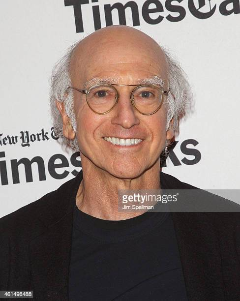 Actor/comedian/writer Larry David attends TimesTalks Presents A Conversation with Larry David at TheTimesCenter on January 13 2015 in New York City