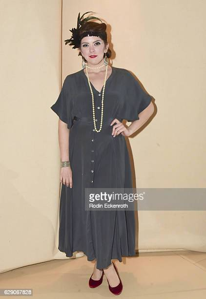 Actor/dancer Chloe Carrera poses for portrait at 'The Nutcracker A Belly Dance Tale at Hyperion Arts Complex on December 10 2016 in Los Angeles...