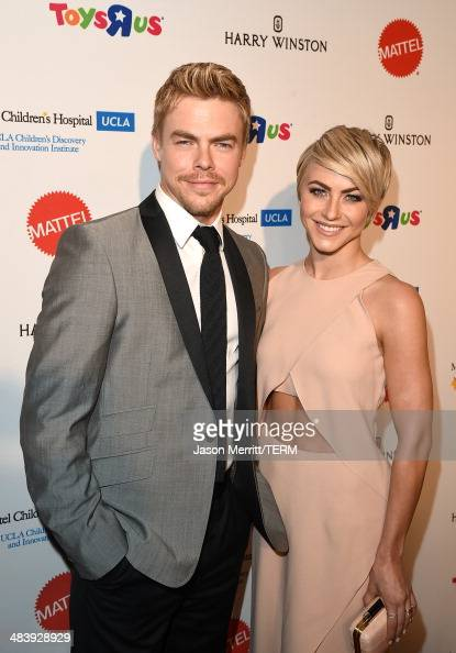 Actor/Dancer Derek Hough and actress Julianne Hough attend The Kaleidoscope Ball – Designing the Sweet Side of LA benefiting the UCLA Children's...