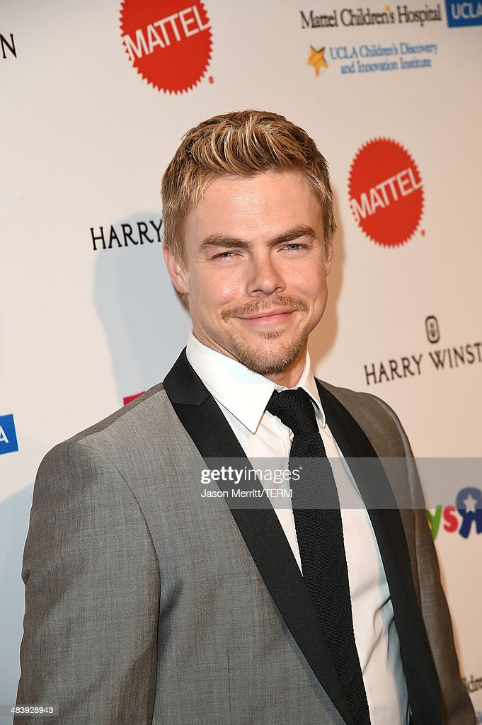 Actor/Dancer <a gi-track='captionPersonalityLinkClicked' href=/galleries/search?phrase=Derek+Hough&family=editorial&specificpeople=4532214 ng-click='$event.stopPropagation()'>Derek Hough</a> attends The Kaleidoscope Ball – Designing the Sweet Side of L.A. benefiting the UCLA Children's Discovery and Innovation Institute at Mattel Children's Hospital UCLA held at Beverly Hills Hotel on April 10, 2014 in Beverly Hills, California.