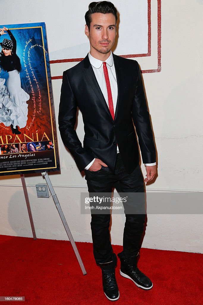 Actor/dancer Timo Nunez attends the premiere of 'Kumpania Flamenco Los Angeles' at El Cid on January 31, 2013 in Los Angeles, California.