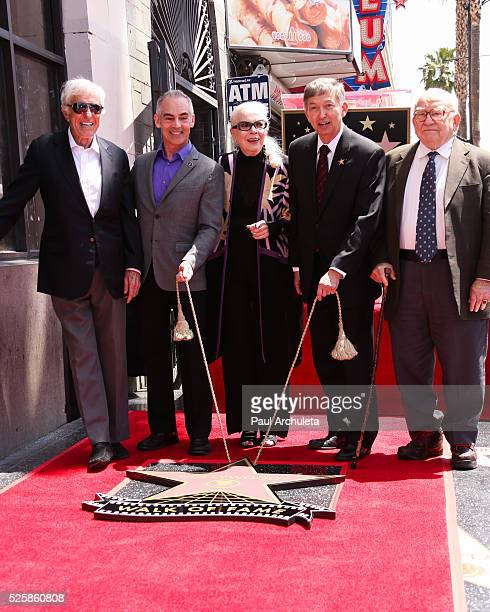 ActorDick Van Dyke Los Angeles City Councilmember Mitch O'Farrel ActressBarbara Bain Hollywood Chamber of Commerce President/CEOLeron Gublerand...