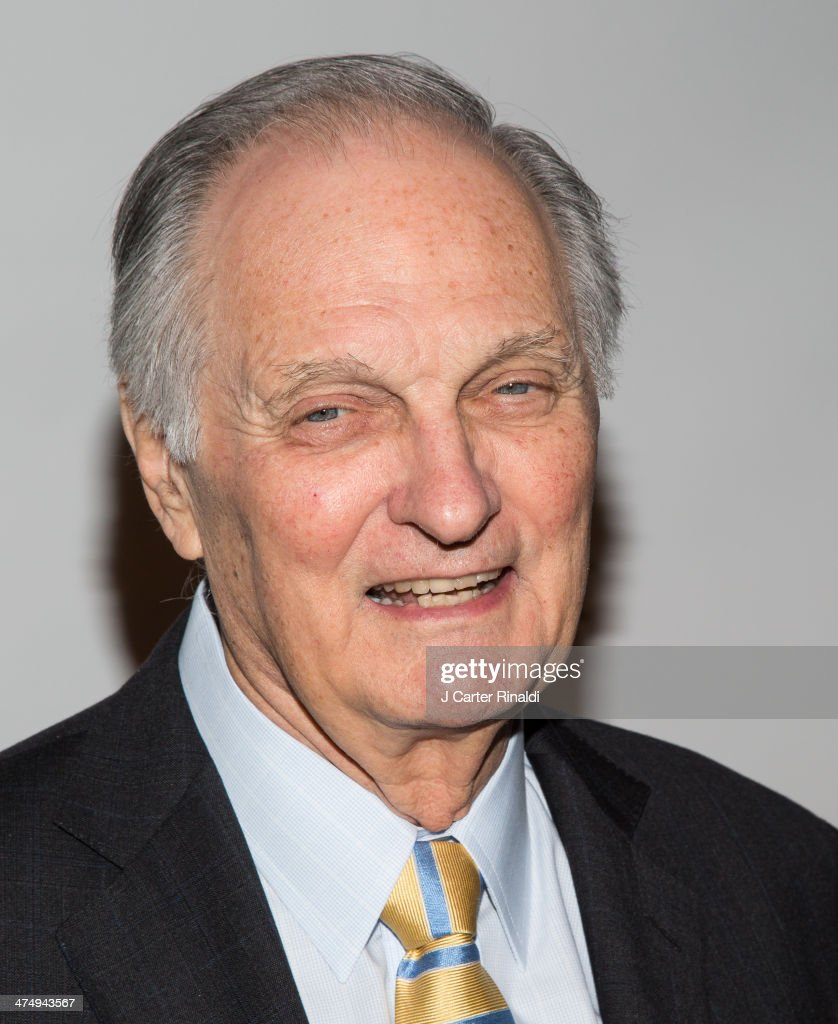 Actor/director Alan Alda attend the 2014 'CMEE In The City' fundraiser at Riverpark on February 25 2014 in New York City