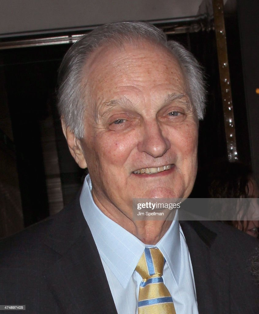 Actor/director <a gi-track='captionPersonalityLinkClicked' href=/galleries/search?phrase=Alan+Alda&family=editorial&specificpeople=206416 ng-click='$event.stopPropagation()'>Alan Alda</a> attends the 2014 'CMEE In The City' fundraiser at Riverpark on February 25, 2014 in New York City.
