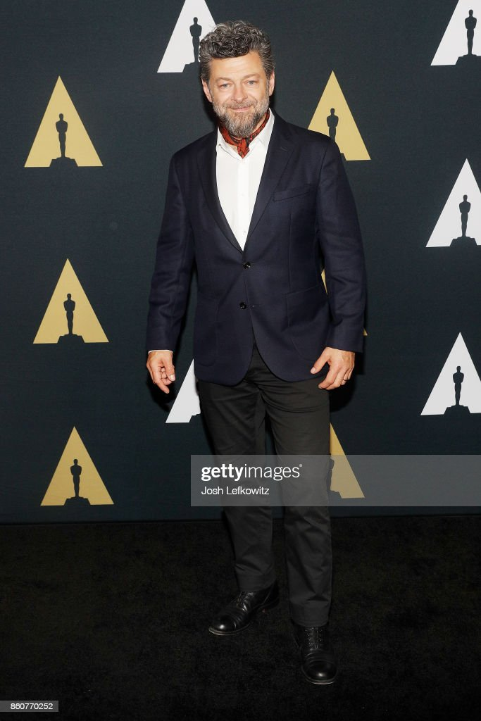 Actor/director Andy Serkis attends the Academy of Motion Picture Arts And Sciences 44th Student Academy Awards at Samuel Goldwyn Theater on October 12, 2017 in Beverly Hills, California.