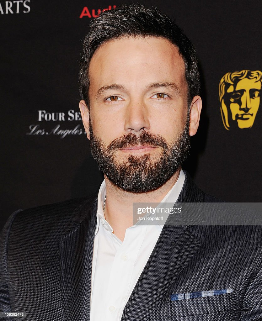 Actor/director Ben Affleck arrive at the BAFTA Los Angeles Awards Season Tea Party at Four Seasons Hotel Los Angeles at Beverly Hills on January 12, 2013 in Beverly Hills, California.