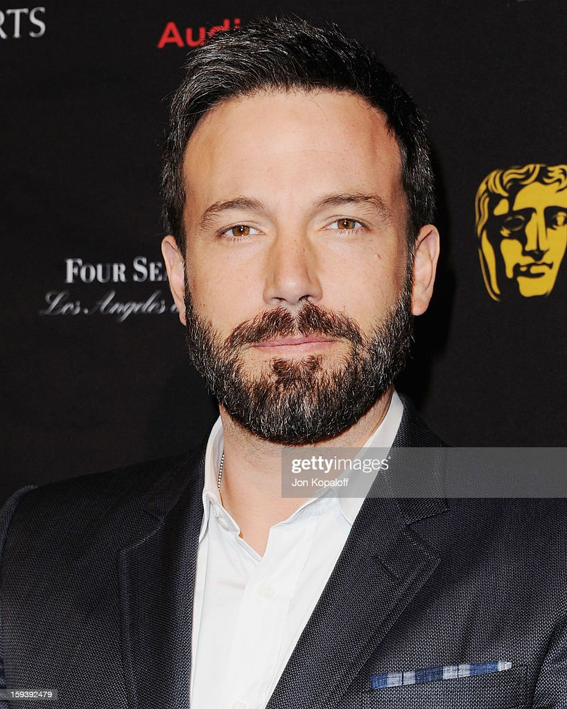 Actor/director <a gi-track='captionPersonalityLinkClicked' href=/galleries/search?phrase=Ben+Affleck&family=editorial&specificpeople=201856 ng-click='$event.stopPropagation()'>Ben Affleck</a> arrive at the BAFTA Los Angeles Awards Season Tea Party at Four Seasons Hotel Los Angeles at Beverly Hills on January 12, 2013 in Beverly Hills, California.