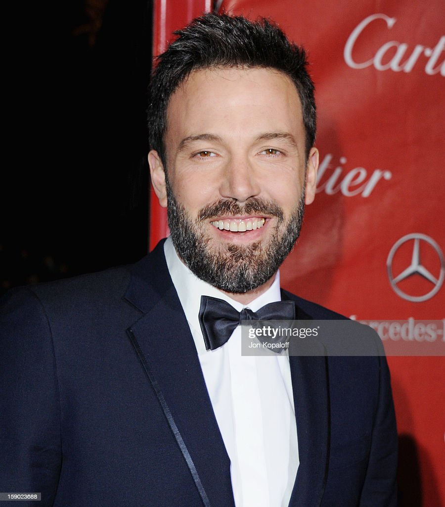 Actor/director <a gi-track='captionPersonalityLinkClicked' href=/galleries/search?phrase=Ben+Affleck&family=editorial&specificpeople=201856 ng-click='$event.stopPropagation()'>Ben Affleck</a> arrives at the 24th Annual Palm Springs International Film Festival Awards Gala at Palm Springs Convention Center on January 5, 2013 in Palm Springs, California.