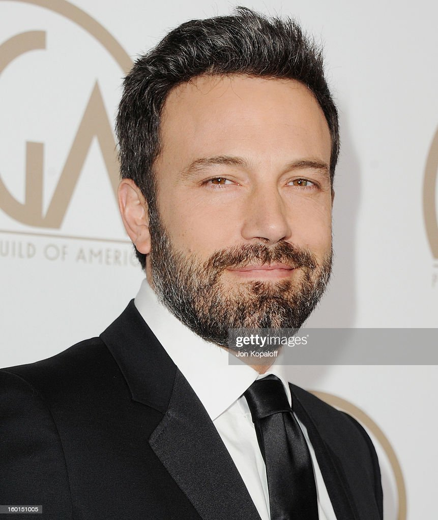 Actor/Director Ben Affleck arrives at the 24th Annual Producers Guild Awards at The Beverly Hilton Hotel on January 26, 2013 in Beverly Hills, California.
