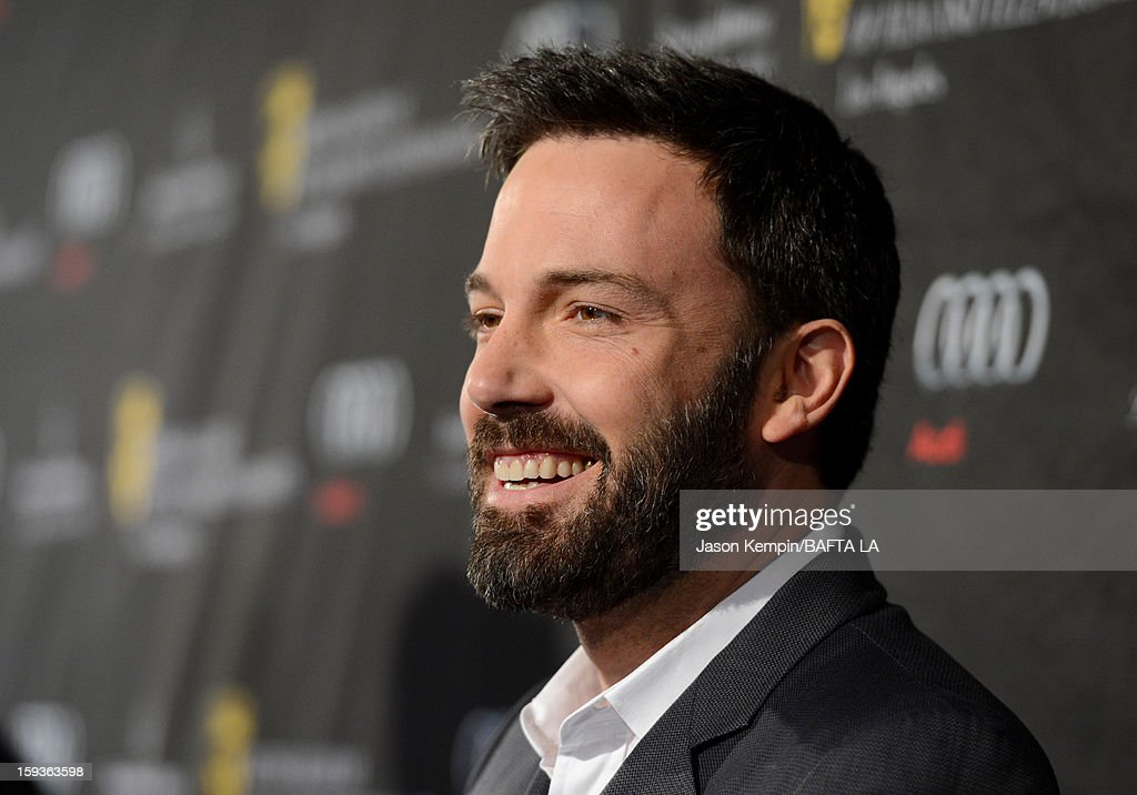 Actor/director <a gi-track='captionPersonalityLinkClicked' href=/galleries/search?phrase=Ben+Affleck&family=editorial&specificpeople=201856 ng-click='$event.stopPropagation()'>Ben Affleck</a> arrives at the BAFTA Los Angeles 2013 Awards Season Tea Party held at the Four Seasons Hotel Los Angeles on January 12, 2013 in Los Angeles, California.
