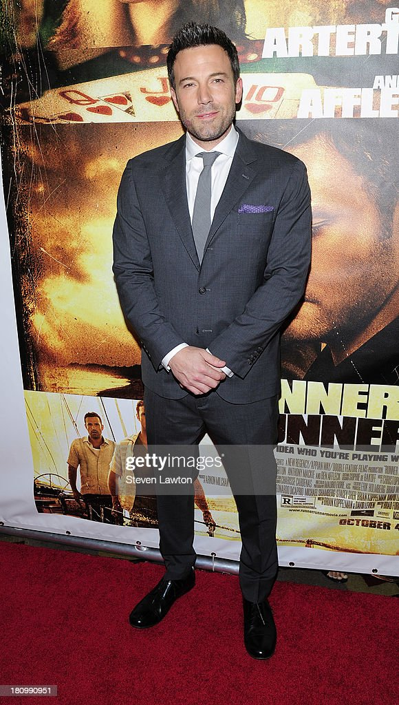 Actor/director Ben Affleck arrives at the world premiere of Twentieth Century Fox and New Regency's film 'Runner Runner' at Planet Hollywood Resort & Casino on September 18, 2013 in Las Vegas, Nevada.