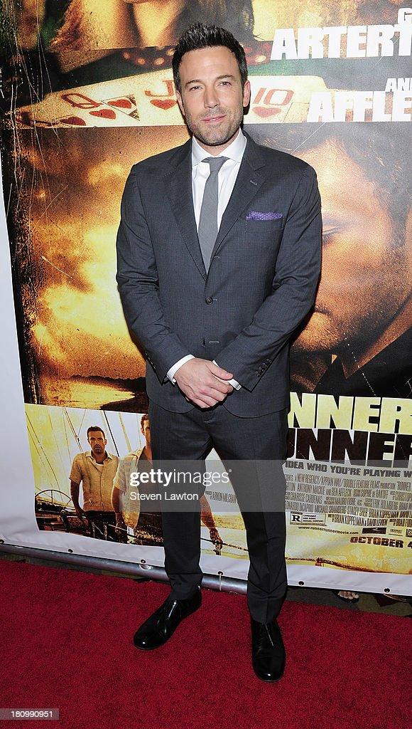 Actor/director Ben Affleck arrives at the world premiere of Twentieth Century Fox and New Regency's film 'Runner Runner' at Planet Hollywood Resort...