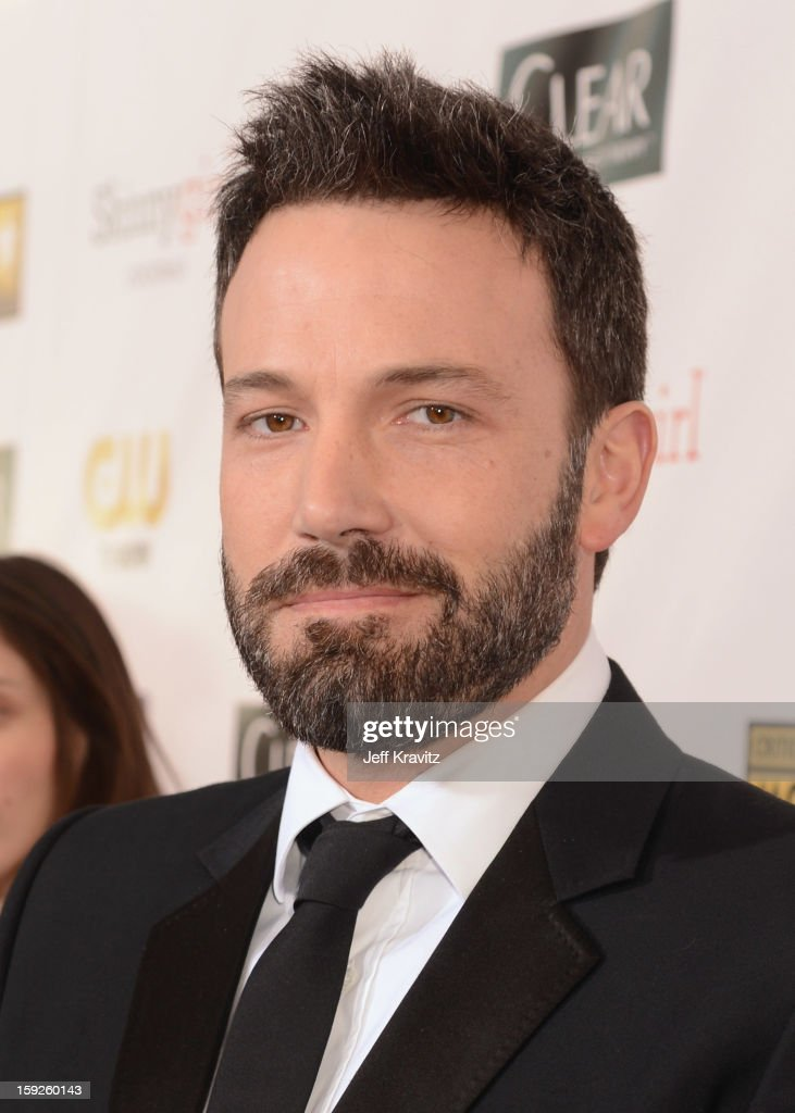 Actor/director <a gi-track='captionPersonalityLinkClicked' href=/galleries/search?phrase=Ben+Affleck&family=editorial&specificpeople=201856 ng-click='$event.stopPropagation()'>Ben Affleck</a> attends the 18th Annual Critics' Choice Movie Awards at Barker Hangar on January 10, 2013 in Santa Monica, California.