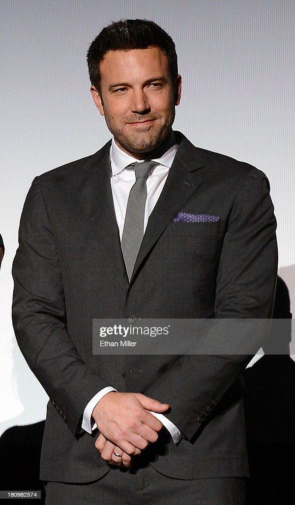 Actor/director Ben Affleck introduces the world premiere of Twentieth Century Fox and New Regency's film 'Runner Runner' at Planet Hollywood Resort...