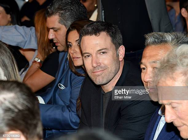 Actor/director Ben Affleck poses ringside at 'Mayweather VS Pacquiao' presented by SHOWTIME PPV And HBO PPV at MGM Grand Garden Arena on May 2 2015...