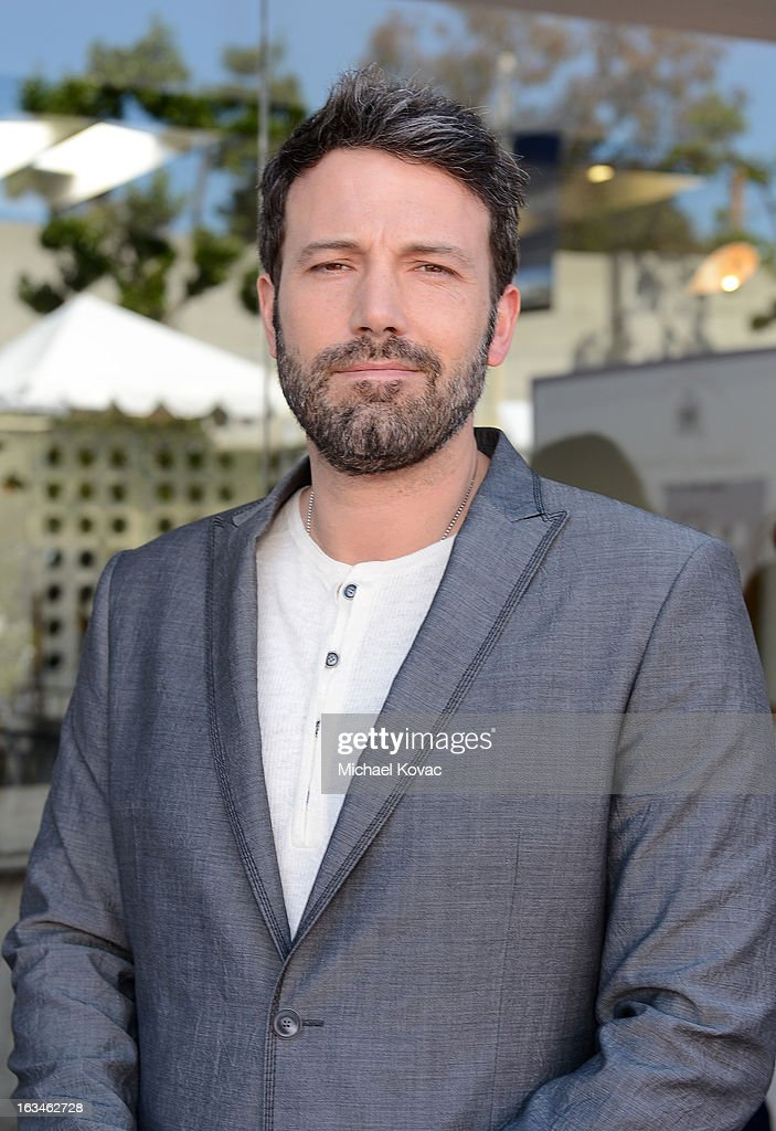 Actor/director <a gi-track='captionPersonalityLinkClicked' href=/galleries/search?phrase=Ben+Affleck&family=editorial&specificpeople=201856 ng-click='$event.stopPropagation()'>Ben Affleck</a>attends the 10th Annual Stuart House Benefit presented by Chrysler at John Varvatos Los Angeles on March 10, 2013 in Los Angeles, California.