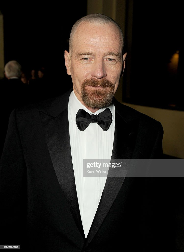 Actor/director <a gi-track='captionPersonalityLinkClicked' href=/galleries/search?phrase=Bryan+Cranston&family=editorial&specificpeople=217768 ng-click='$event.stopPropagation()'>Bryan Cranston</a> attends the 65th Annual Directors Guild Of America Awards at Ray Dolby Ballroom at Hollywood & Highland on February 2, 2013 in Los Angeles, California.