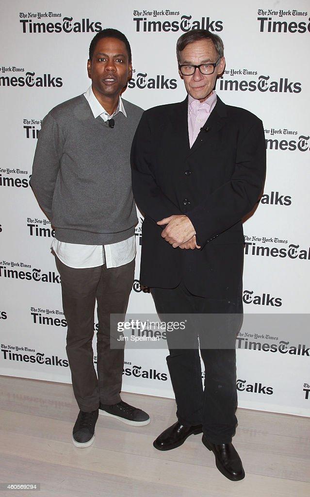 TimesTalks Presents A Conversation With Chris Rock