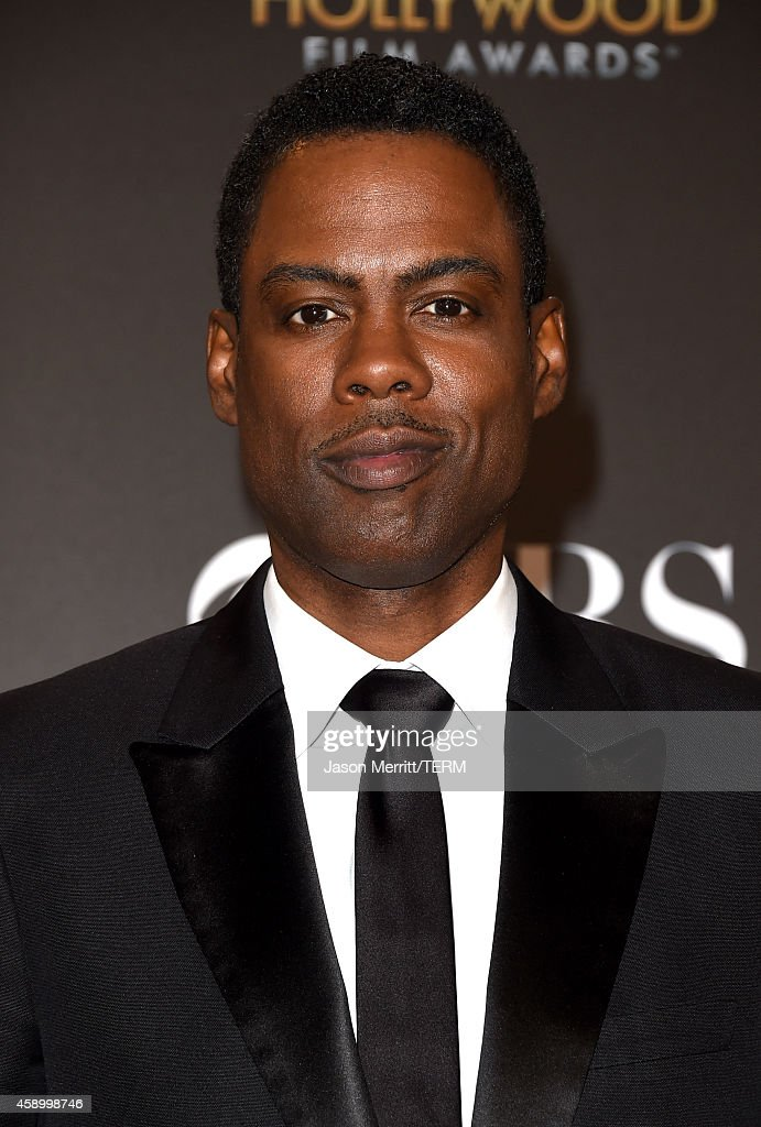 Actor/director <a gi-track='captionPersonalityLinkClicked' href=/galleries/search?phrase=Chris+Rock&family=editorial&specificpeople=202982 ng-click='$event.stopPropagation()'>Chris Rock</a>, winner of Hollywood Comedy Film for 'Top Five,' poses in the press room during the 18th Annual Hollywood Film Awards at The Palladium on November 14, 2014 in Hollywood, California.